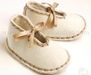 Soft Sheepskin Slippers for Babies 0-18 Mos.