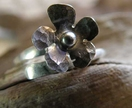 Little Flower Adjustable Ring