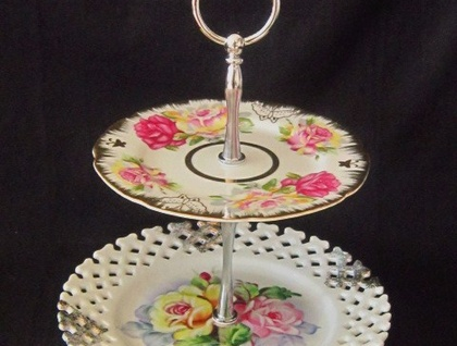 2-Tier cake Stand - Ginger