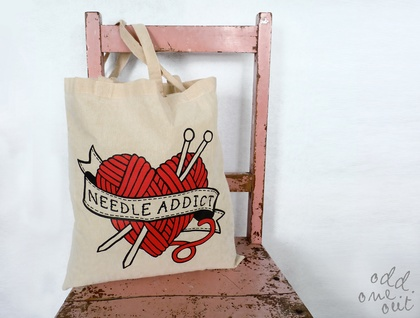 Needle Addict - Tote Bag