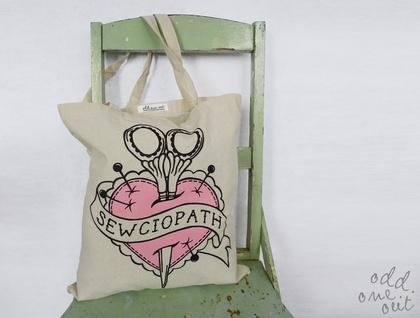 Sewciopath - Tote Bag