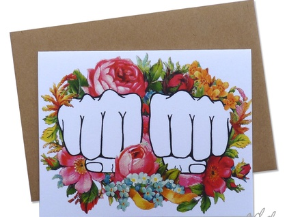 KNUCKLE TAT - CUSTOMIZABLE CARD!