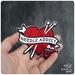 Needle Addict - Iron on Gang Patch