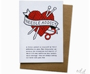 Needle Addict - Greeting Card