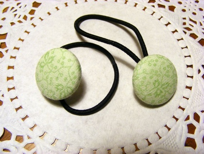 Spring Green Hair ties