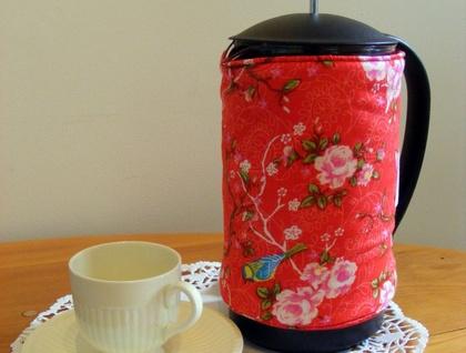 Pretty Floral Coffee Cosy