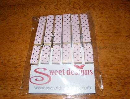 Pretty Peg Magnets