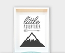 Little Adventurer, Wall Art 8x10/A4