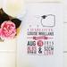 Personalised baby keepsake print | Baby birth print | Baby Shower Gift