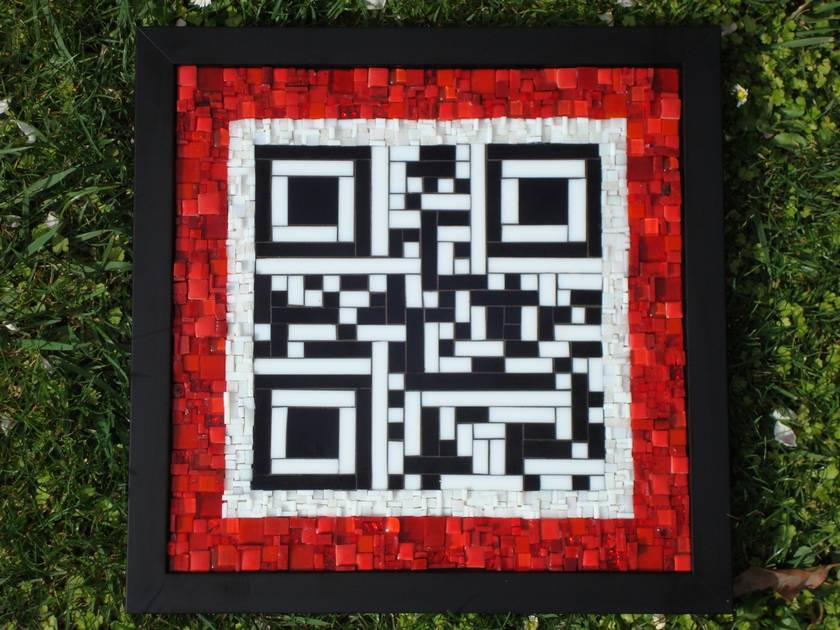 Mosaic Art - QR Code