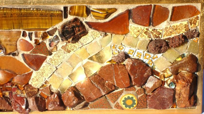 Mosaic Art - Tiger's Eye