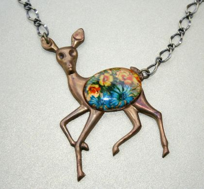 gentle fawn necklace