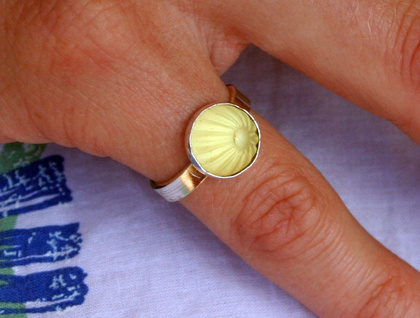 jube jube ring - lemon