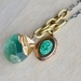 crystal and locket necklace