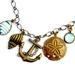 nautical charm necklace