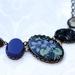 night blooming jasmine - 5 link necklace