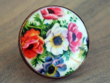 Poppies ring
