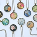 assorted glass dome pendants  - last ones