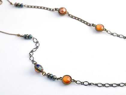 long stranded necklace