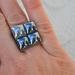 mosaic ring - blues