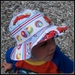 Fire Dog Sunhat - 1-3 years