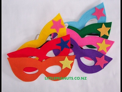 Dress Up Mask - Superhero Girl