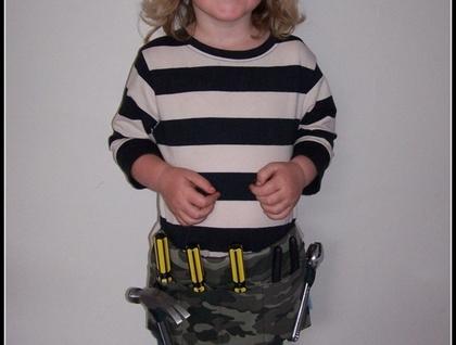 Tool-craft-utility belt  - Camo Green