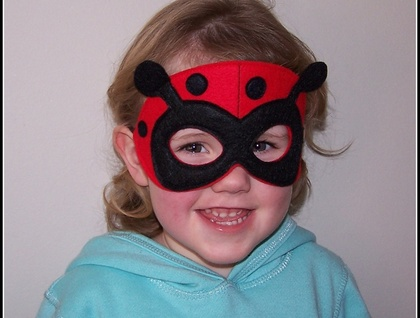 Ladybug Dress Up Mask