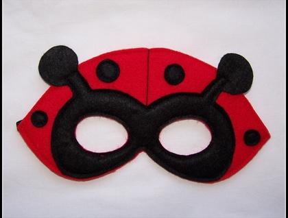 Ladybug Dress Up Mask