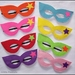 Superhero girl dress up mask