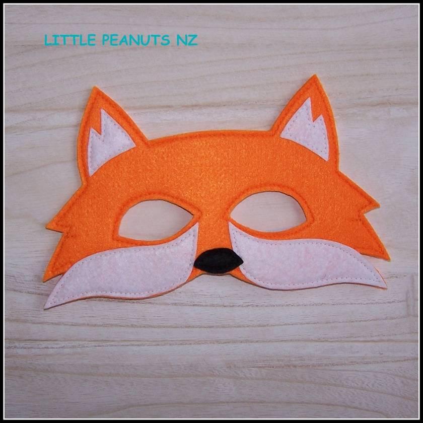 Dress Up Mask - Fox