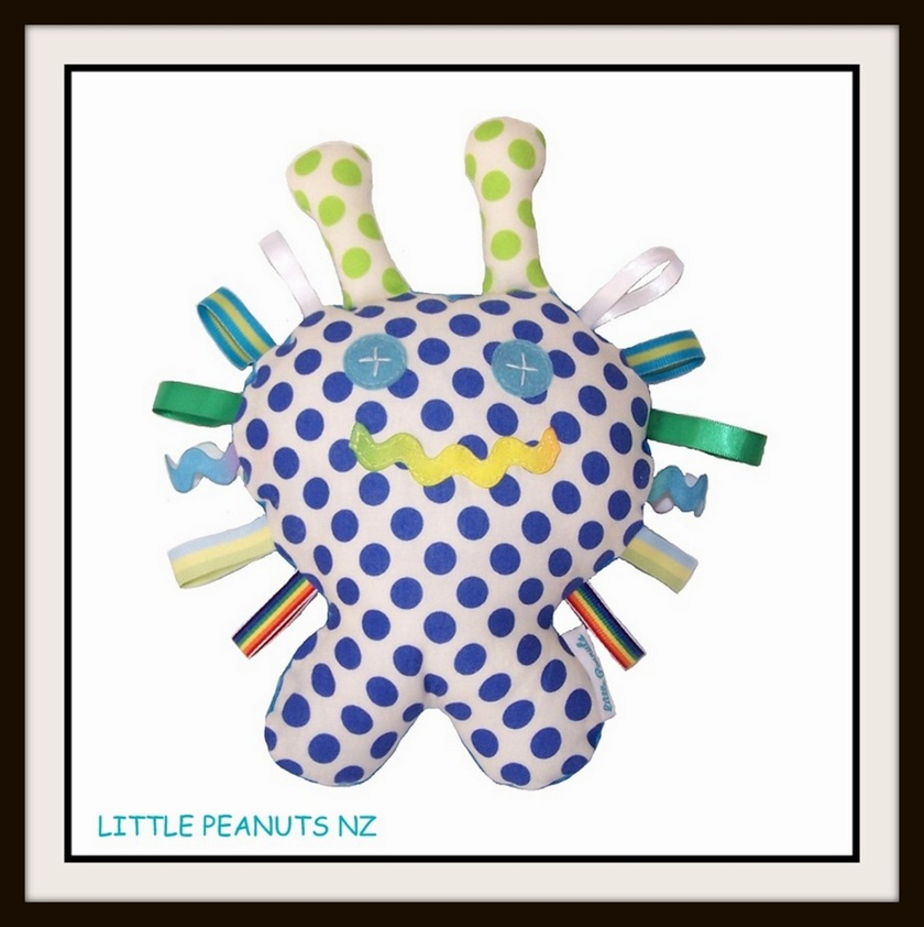 Loopies Texture Toy Rattle