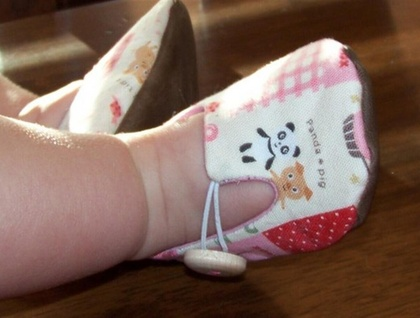 Cotton Baby Shoes 3-6 months