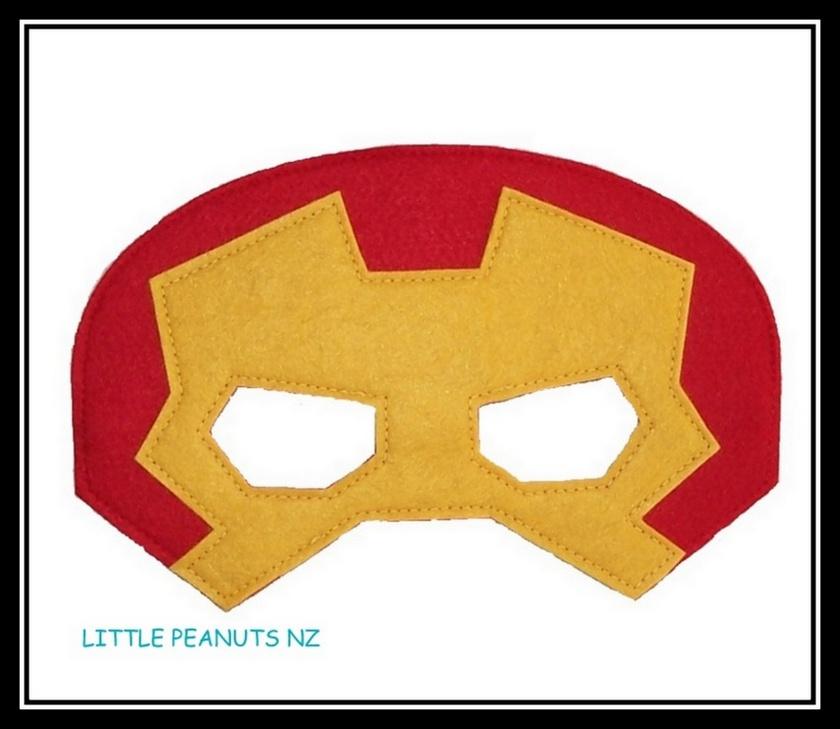 Superhero Mask Ironman