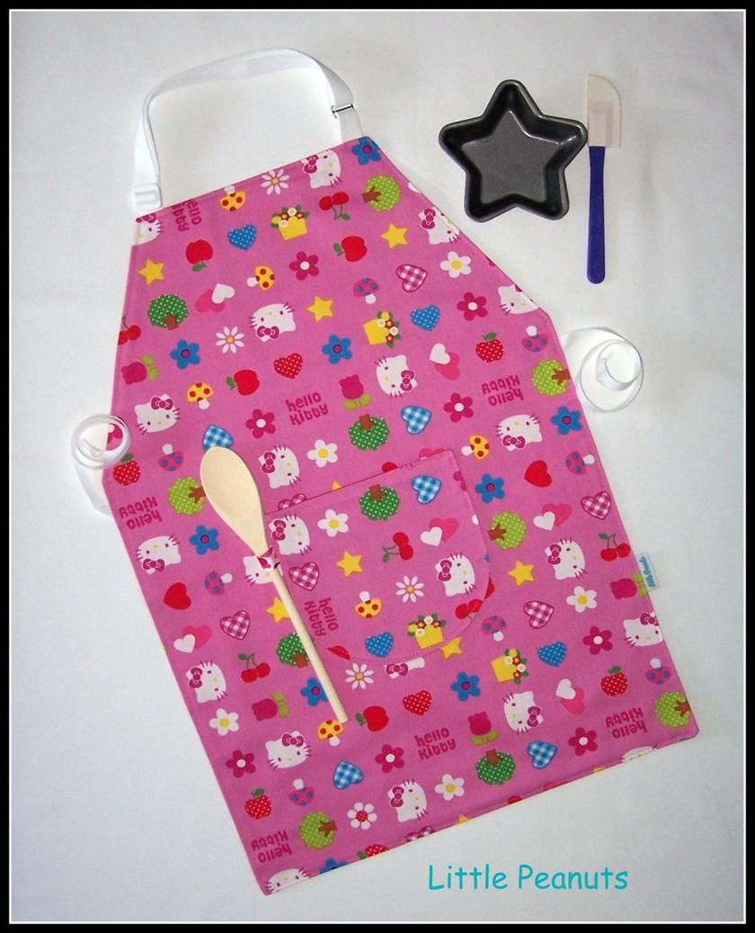 Kids kitchen apron - Girl Selection 2-5 years