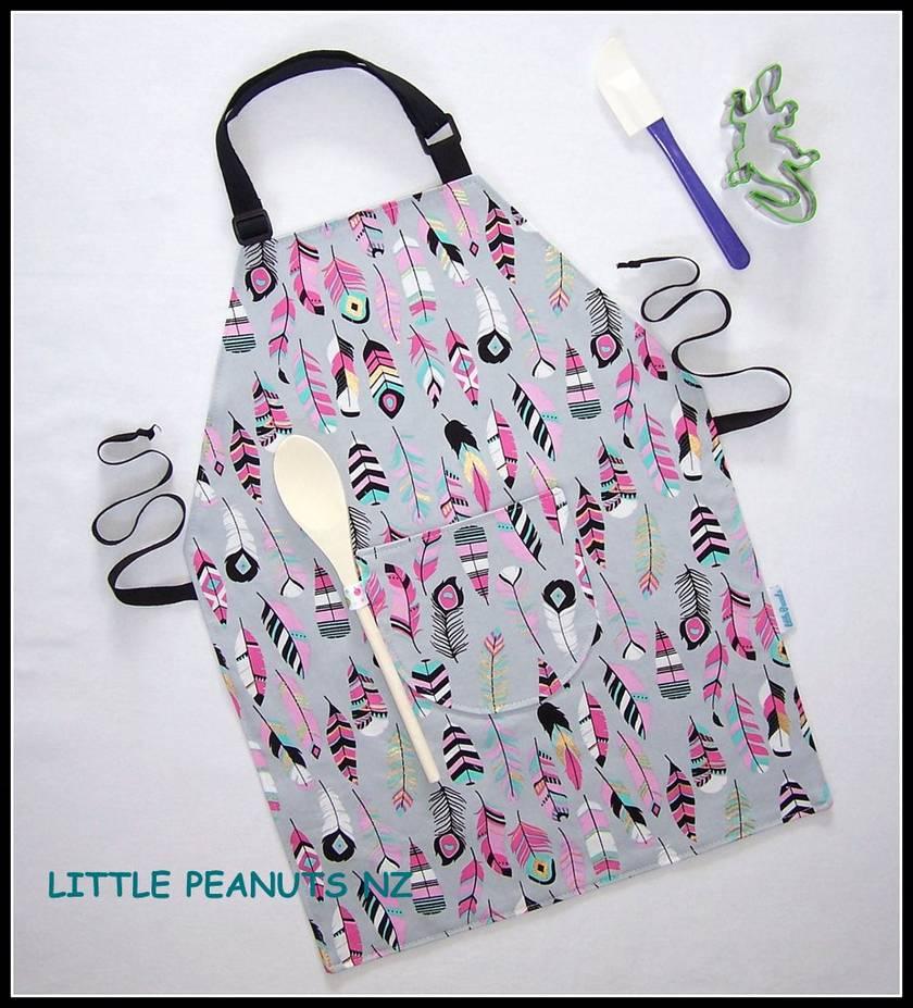 Kids apron 5-9 years Girl Selection