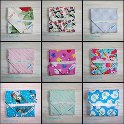 Reusable Food Wrap ~ PACK EAT REUSE