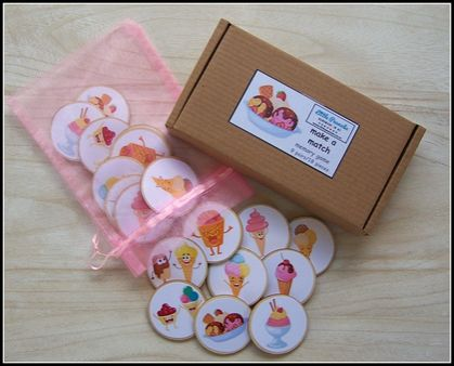 Make a Match Memory Game - Sweets