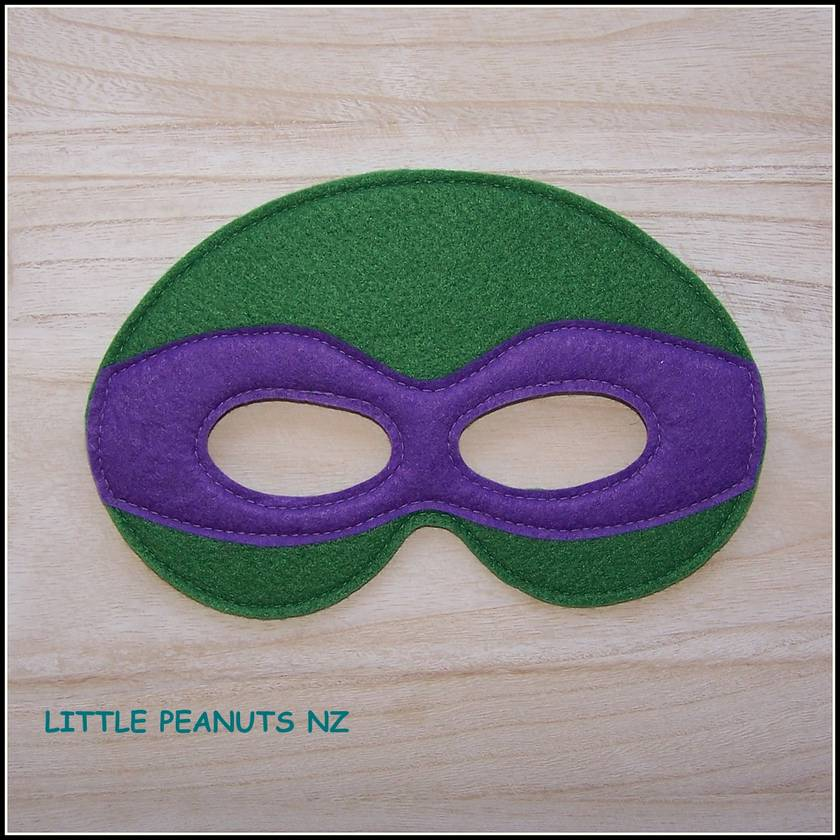 Superhero Mask Teenage Mutant Ninja Turtles