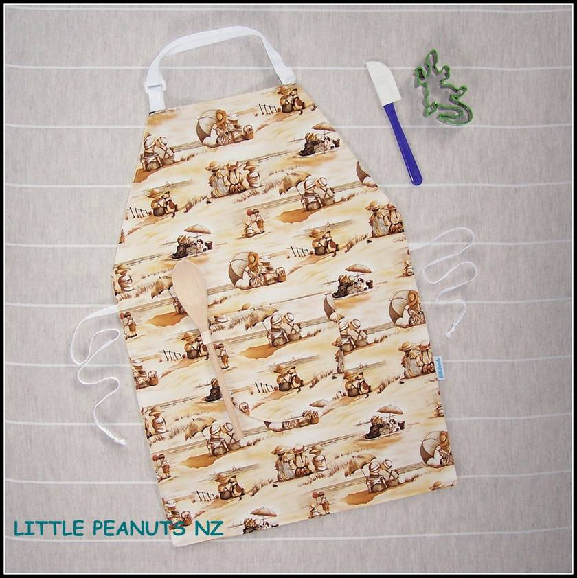 Kids apron 5-9 years Girl Selection