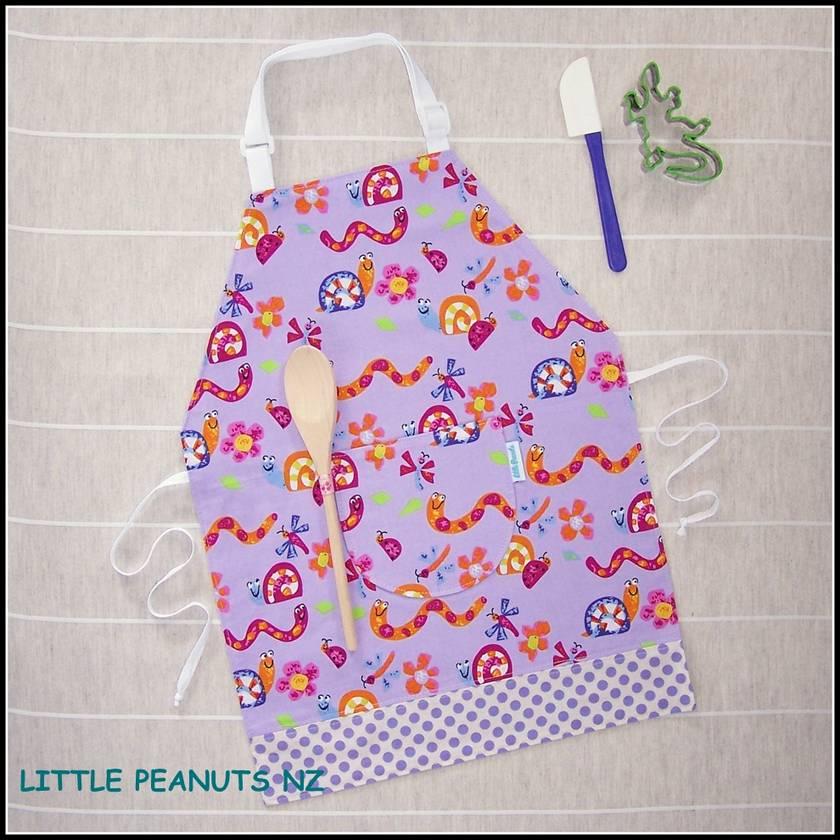 Kids apron 2-5 years Girl Selection
