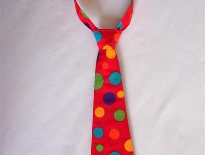 Toddler Neck Tie - Dot Funk