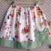 Retro Bow Pocket Little Girls Skirt