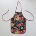 Vintage Rose Print Toddlers Apron