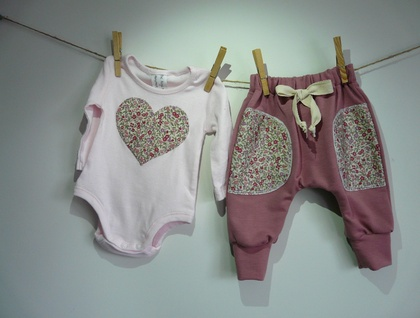 T-shirt and Harem pants set.