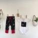 Harem pants and onesie set