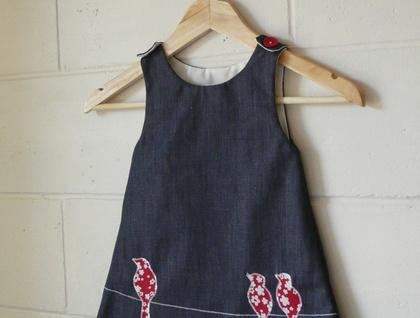 Pinafore top/dress
