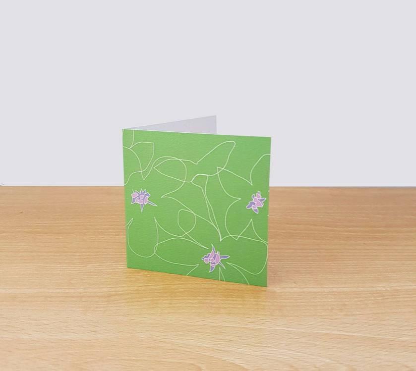Green Flower Gift Card