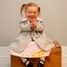 Toddlers Wool Coat - vintage style