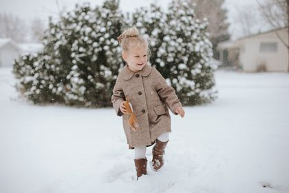 Childs Wool Coat